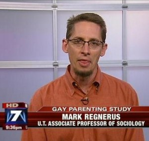 regnerus Mark Regnerus Revealing His True Colors As Anti Gay Activist