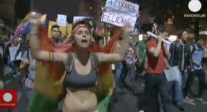 brazil 300x163 Brazilians Protest Proposed Gay Cure Law