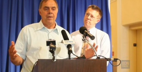 Madore and Heath, just two normal guys holding a press conference about how weird they are.