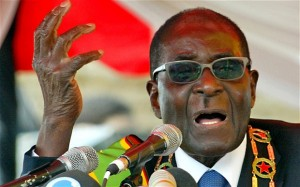 mugabe1 300x187 Warlord Dictator Mugabe Does Not Like Archbishop Desmond Tutus Views On Homosexuality