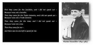 niemoller quote 300x147 Anti Gay Anglicans Bemoan Marriage Equality By Melodramatically Quoting Martin Niemöller