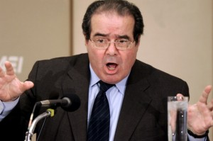 scalia 300x199 Scalia Claims That Judicial Activism Contributed To Holocaust