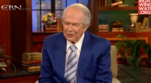 unclepat 300x165 Pat Robertson Requests Facebook Add Vomit Button For When He Sees Gay Stuff