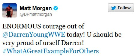 wwe2 WWE Wrestler Darren Young Comes Out
