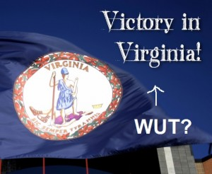 Victory in VA 300x246 NOM Now Considers Delaying A Vote On Spousal Benefits A Victory