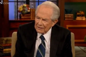 unclepat 300x197 Pat Robertson Loses Battle To Scrub Internet Of Comments About Gays Infecting People With AIDS Rings