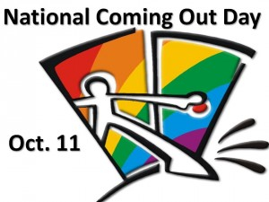 comingout 300x225 National Coming Out Day    Whats Changed And What Hasnt