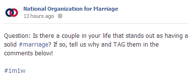 nommarriage3 Tell NOM About The Marriages That Inspire You!