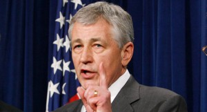 hagel1 300x162 Defense Secretary Chuck Hagel Puts Rogue, Anti Gay National Guard Units In Their Place