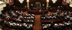 illinoishouse 300x125 Illinois House Voting On Marriage Equality Bill This Afternoon!