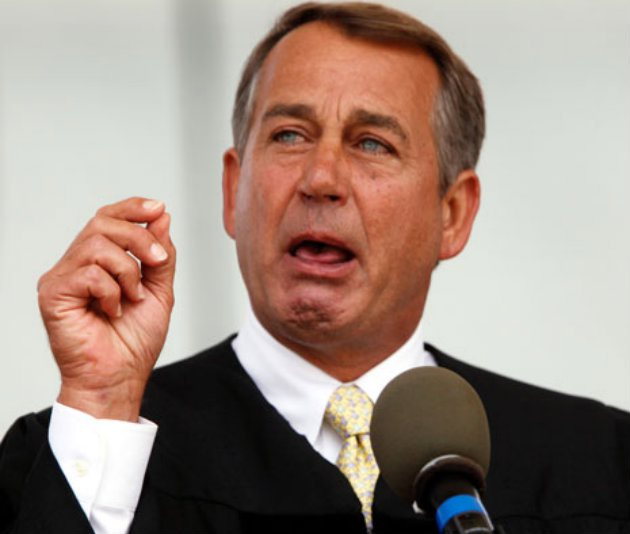 John Boehner Should Stop Fishing In the Tea Party Piranha Stream