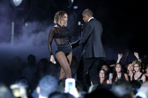 Beyonce Jay Z Grammys Drunk In Love 300x199 Purportedly Pro Marriage Conservatives Cant Handle Beyoncé And Jay Zs Sexy Portrayal Of Monogamous Marriage