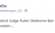 BREAKING: District Court Judge Rules Oklahoma's Marriage Ban Unconstitutional!