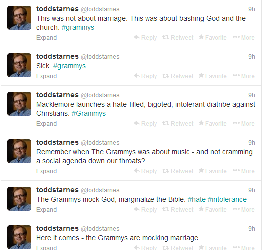 starnes Here Are Some More Wingnuts Who Are Mad About The Grammy Awards