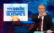 Jon Stewart Covers The Upcoming '2014 Sochi Homophobic Olympics'