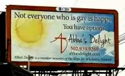 Downtown Louisville Neighborhood Marred By 'Ex-Gay' Billboard Eyesore
