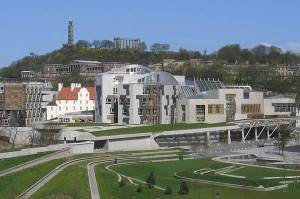 Scottish Parliament insert by Klaus with K via Wikimedia 300x199 Marriage Equality Coming To Scotland!