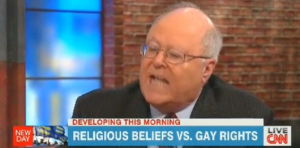 donohue 300x148 Bill Donohue Hysterically Tries To Explain To Chris Cuomo Why Gays Shouldnt Be Equal