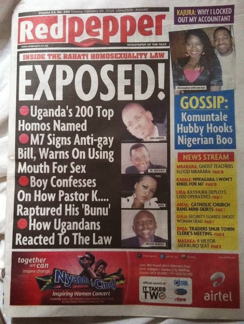 UgandaTop200 Ugandas Official News Agency Issues Challenge:  Prove That LGBT People Are Being Persecuted