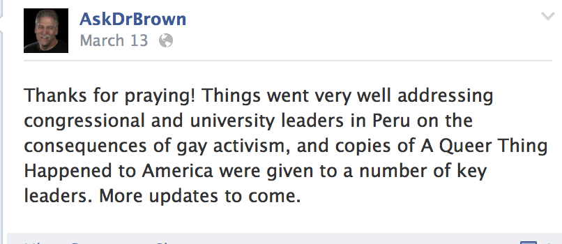 brown3 0 Is Peru The Next Place Anti Gay Americans Want To Foment Hatred?