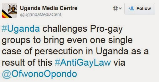 ugandaproveit Ugandas Official News Agency Issues Challenge:  Prove That LGBT People Are Being Persecuted