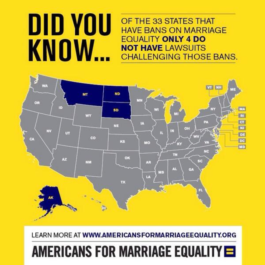 4states Only Four States Remain Where Marriage Bans Have Gone Unchallenged