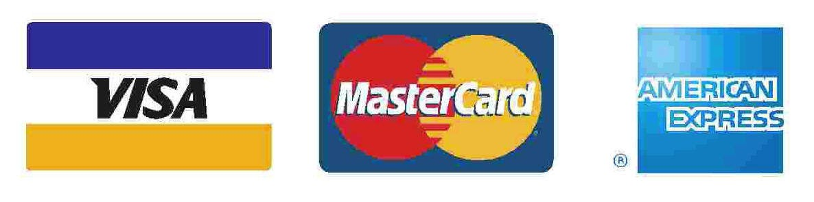 credit card logos e1336501136438 Donate