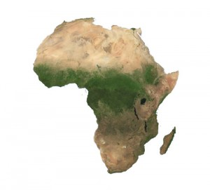 Africa Satellite small