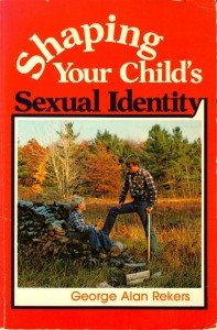 Creepy cover of George Alan Reker book on how to brainwash your child
