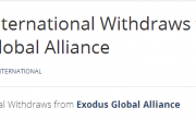 Exodus International Cuts Ties With Exodus Global Alliance
