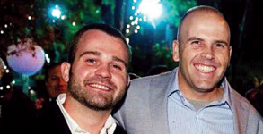 Thom Kostura and Ijpe DeKoe, one of the Tennessee couples suing for marriage recognition.