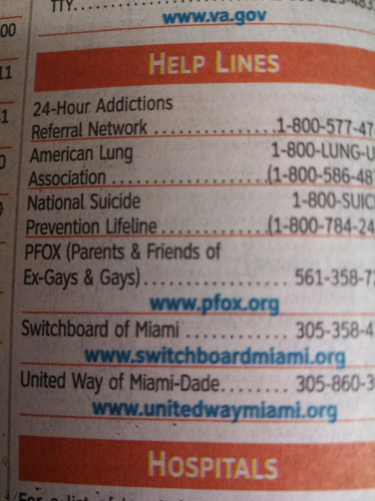 PFOX Tricks Parents by Getting Listed In Phone Book as Help Line