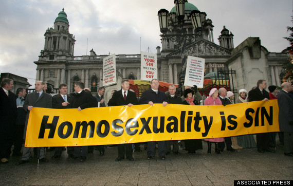 BRITAIN NIRELAND GAY MARRIAGE